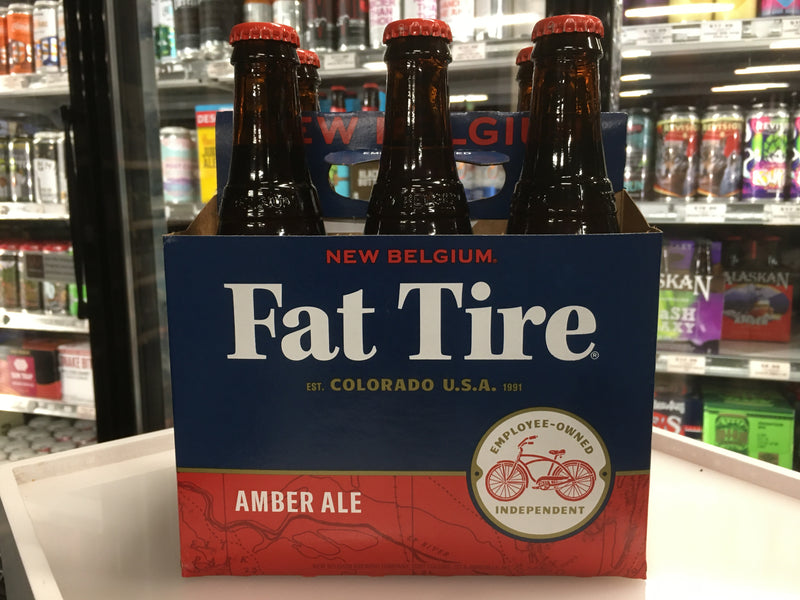 NEW BELGIUM FAT TIRE 6 PK