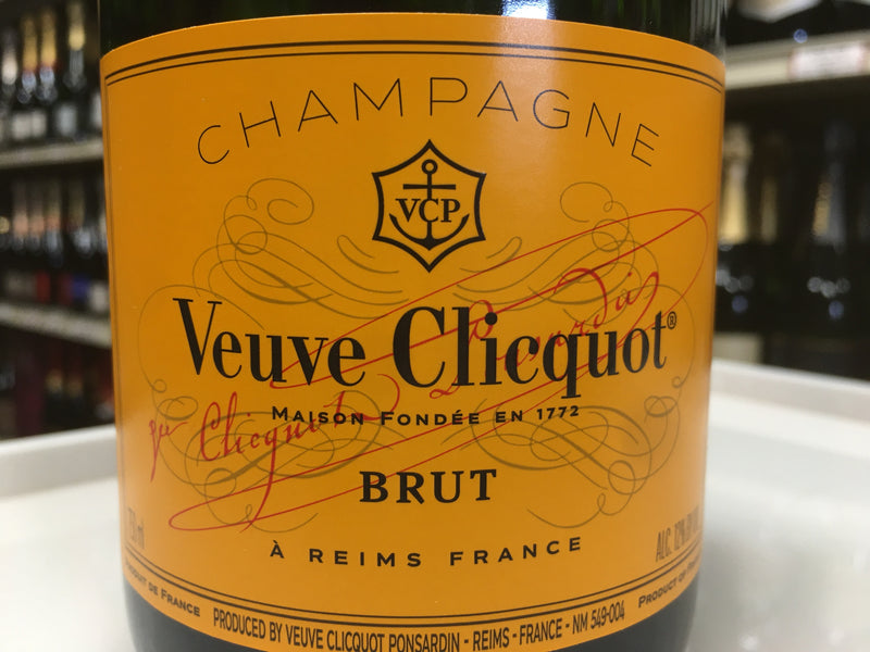 "VEUVE CLICQUOT ""ORANGE LABEL"" BRUT"