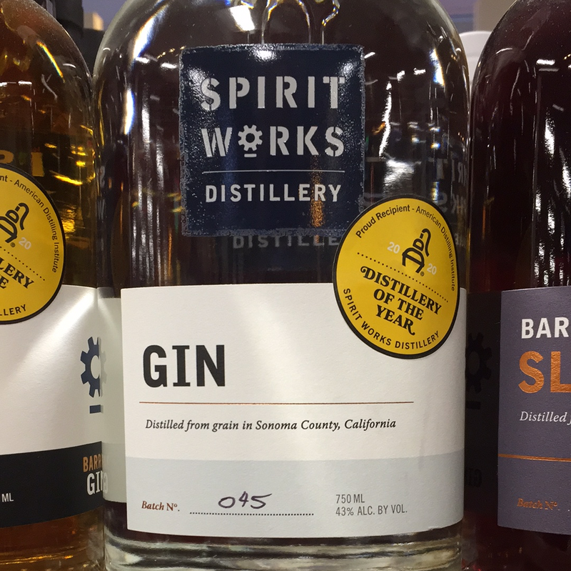SPIRIT WORKS DISTILLERY GIN