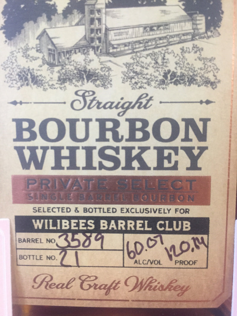 Woodinville Single Barrel (Wilibees Pick)