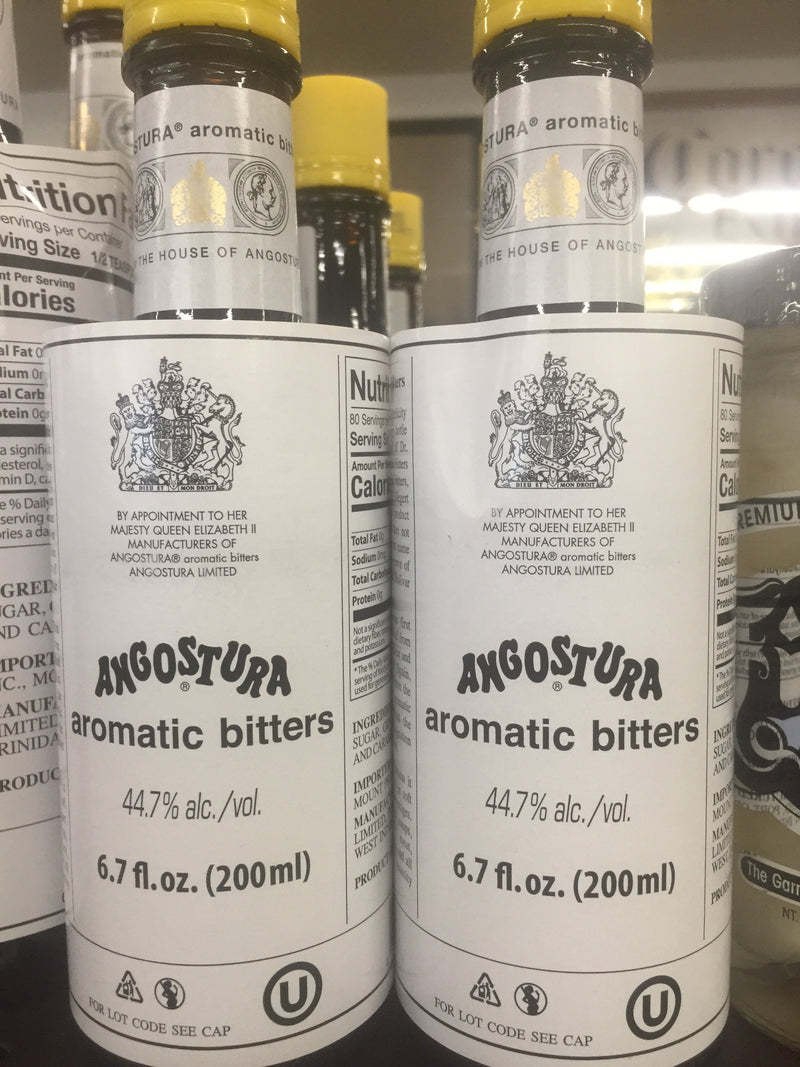 ANGOSTURA AROMATIC BITTERS 200 ML.
