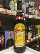 KAHLUA RUM & COFFEE LIQUEUR 750 ML.