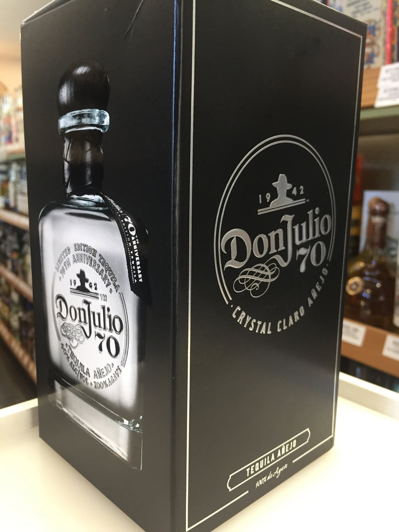 DON JULIO TEQ ANEJO 80 70TH ANNV