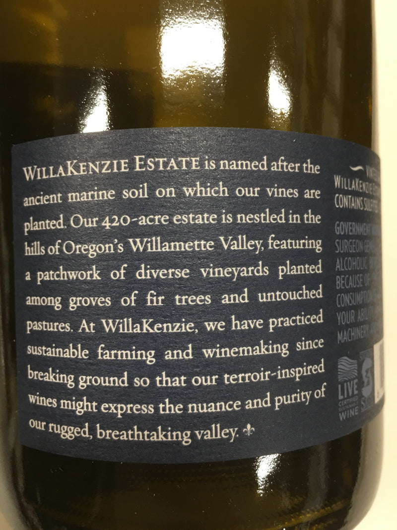 WILLAKENZIE ESTATE WILLAMETTE VALLEY 2018