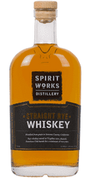 SPIRIT WORKS STRAIGHT RYE WHISKEY