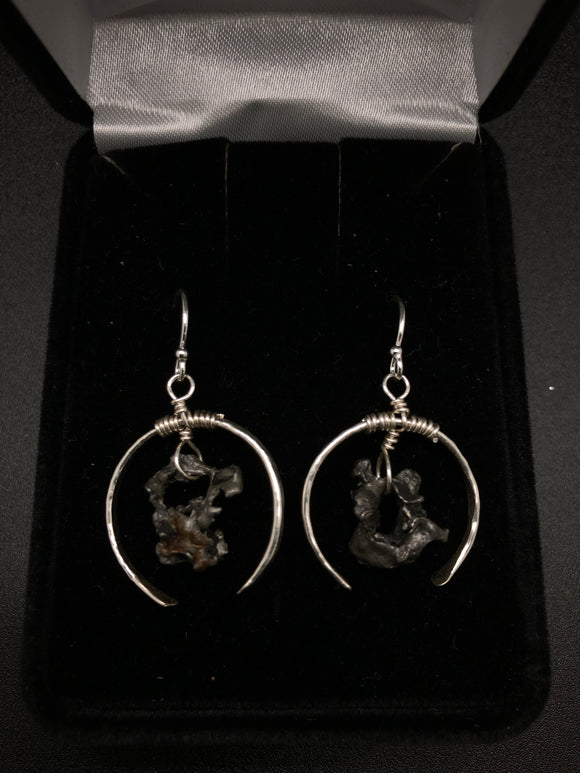 Shattered Meteorite Earrings