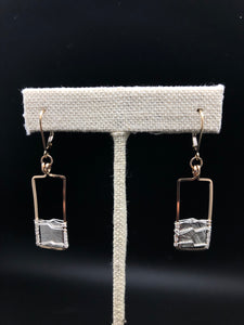 "Meteorite ""Windows to Space"" Earrings"