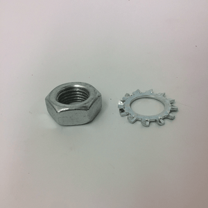 "1/2"" Root Rat Nozzle Replacement Nut & Lock Washer"