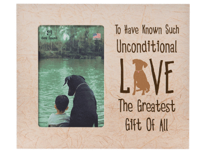 To Have Known Such Unconditional Love - Picture Frame