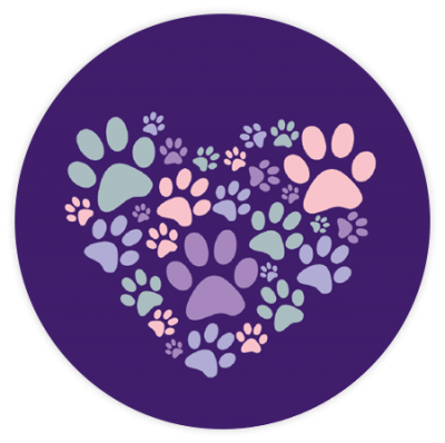 Heart Paws - Car Coaster