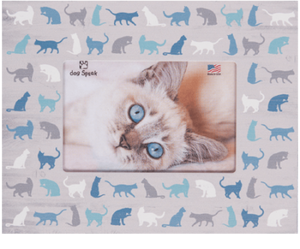 All Over Cat Icons - Picture Frame