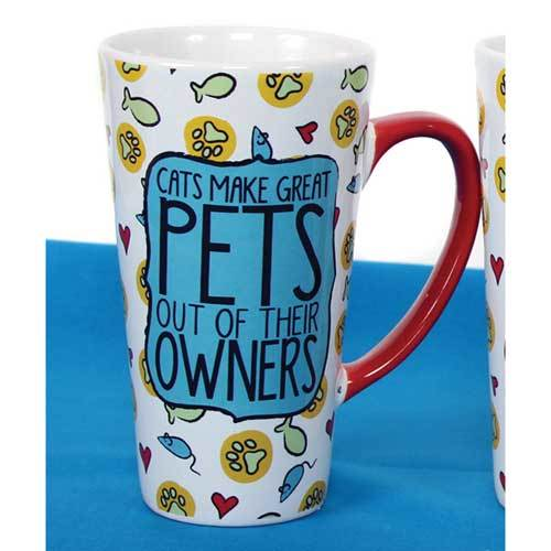 Cats Make Great Pets Out of Their Owners - Mug