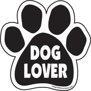Dog Lover Car Magnet