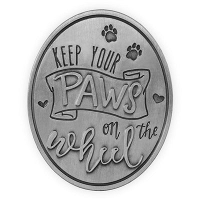 Keep Your Paws On The Wheel - Visor Clip