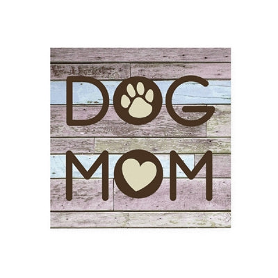 Dog Mom - Wood Pallet Magnet