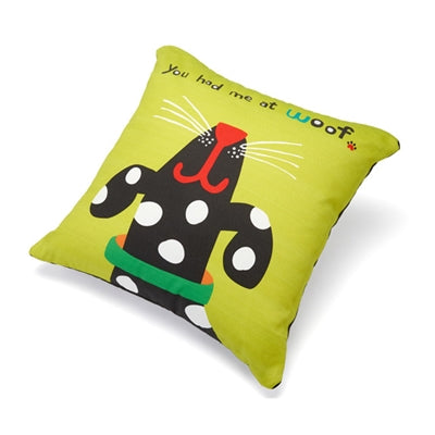 You Had Me at Woof Accent Pillow (18