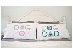 Dog Mom/Dog Dad - Pillow Case Set