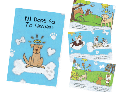All Dogs Go to Heaven Booklet - Sympathy
