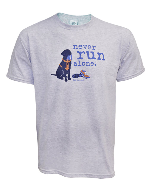 Never Run Alone T-Shirt - Unisex