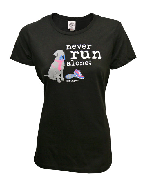 Never Run Alone T-Shirt - Women's