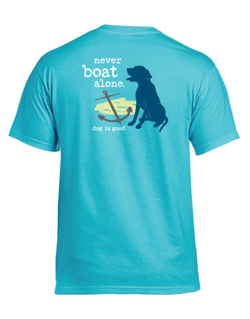 Never Boat Alone T-Shirt - Unisex