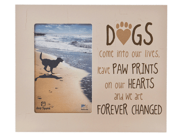 Dogs Come Into Our Lives - Picture Frame