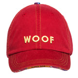 Woof Baseball Cap - Red