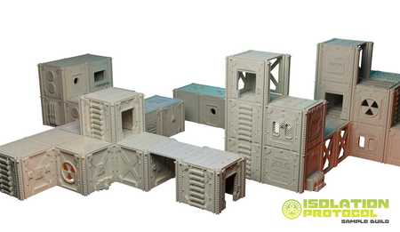 Isolation Protocol from Corvus Games Terrain, a modular scifi terrain Kickstarter for 28mm games like Deadzone, Infinity, Star Breach, Necromunda