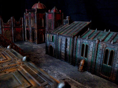 Corvus Games Terrain : 3D printed sci-fi tabletop wargaming