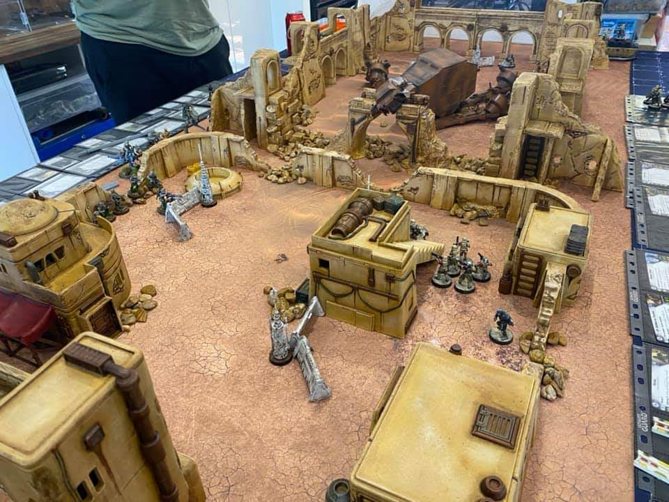 Corvus Games Terrain 3D printed scifi terrain for 28mm - 34mm tabletop wargames