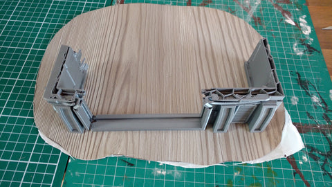 Corvus Games Terrain 3D printable Speeder Garage scenery for Star Wars Legion
