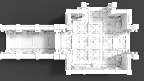 Corvus Games Terrain 3D printed scenery for Space Hulk