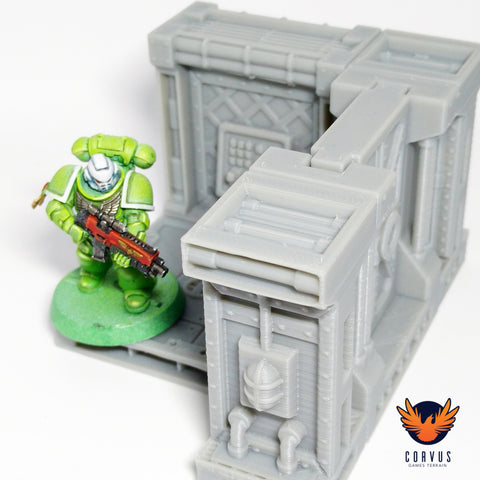 Corvus Games Terrain 3D printed scenery for Warhammer 40K, Necromunda and Space Hulk