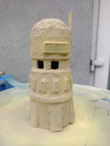 Paint your 3D printed wargaming terrain using a cheap rattle can spray