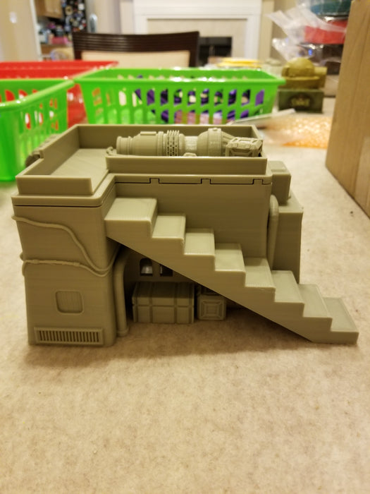 Corvus Games Terrain 3D printed Desert Town House for Star Wars Legion