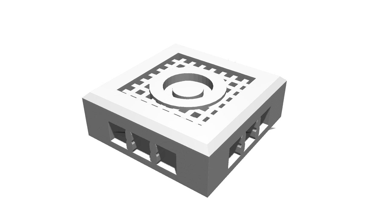 Corvus Games Terrain 3D printable modular Industrial Chemzone terrain set for Warhammer 40K, Space Hulk, Necromunda and Kill Team