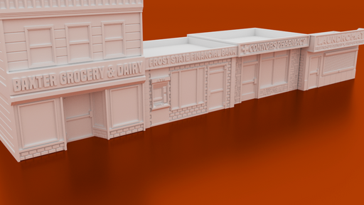 Corvus Games Terrain 3D printable Crisis Protocol token holders and terrain 40mm urban