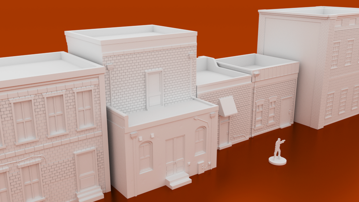 Urban Groveham Town Bundle Digital STL 3D printable