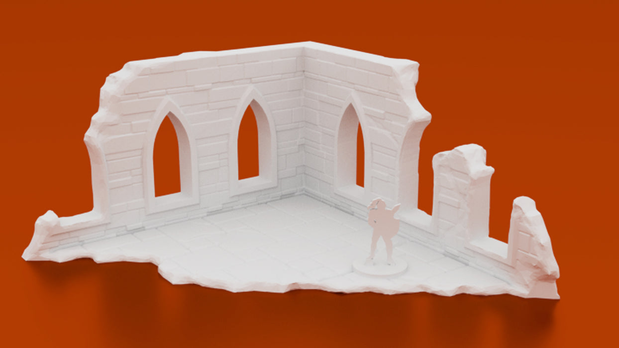 Corvus Games Terrain 3D printable Arcane Ruins fantasy terrain for Warhammer Age of Sigmar, Kill Team, Warhammer 40K and Frostgrave