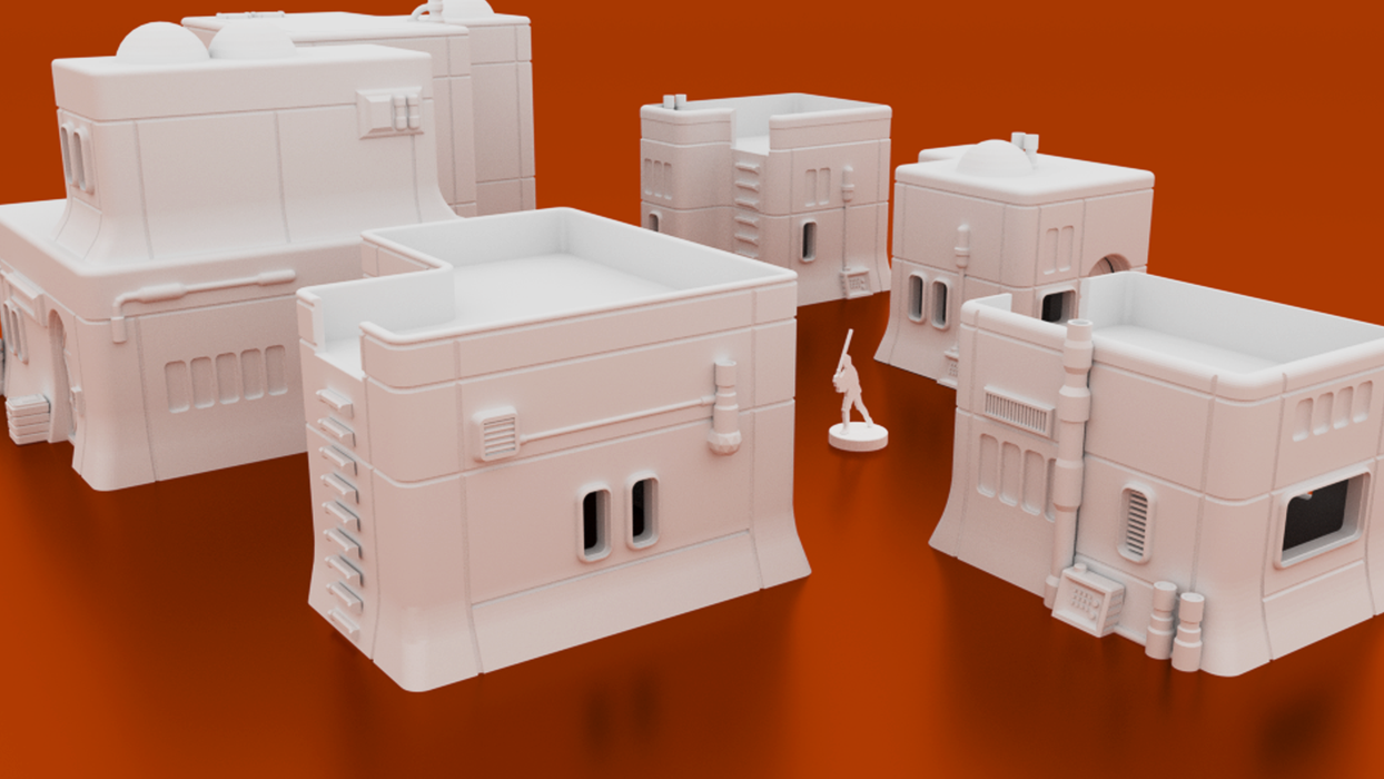 Haarapan Plains Bundle Digital STL 3D printable