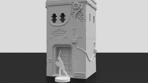 Corvus Games Terrain 3D printable Jedha Pilgrim City house for Star Wars Legion 34mm tabletop wargame
