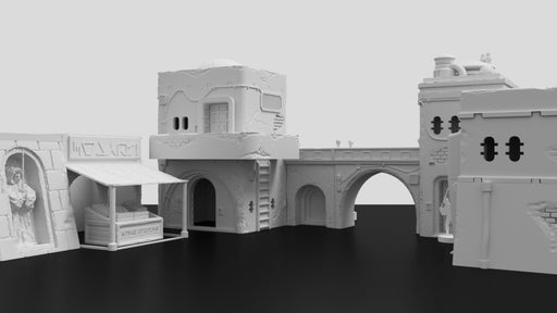 Corvus Games Terrain 3D printable Jedha scenery for Star Wars LegionCorvus Games Terrain 3D printable Jedha scenery for Star Wars Legion