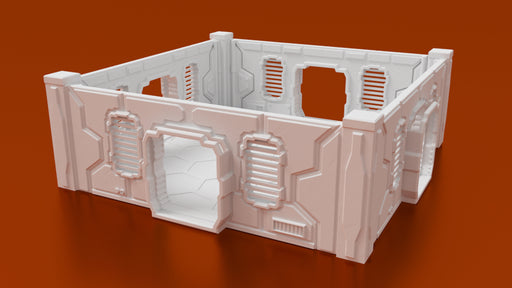 Corvus Games Terrain 3D printable Objective Room for Infinity the Game, Kill Team, Star Wars Legion, and Warhammer 40K