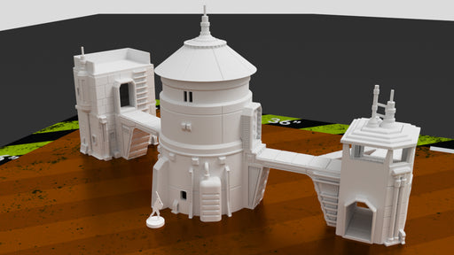 Corvus Games Terrain 3D printable Outpost Beta scenery for Star Wars Legion