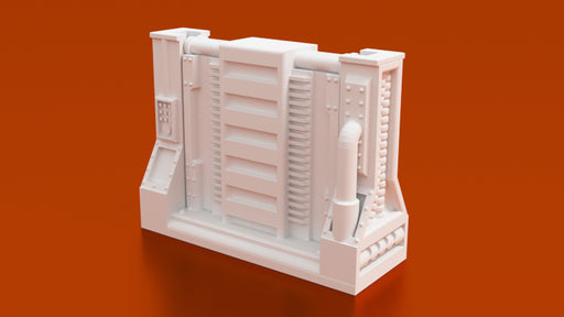 Corvus Games Terrain 3D printable Space Hulk doorway and removable door for Warhammer 40K