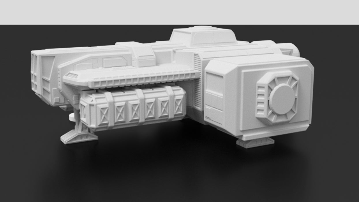 Corvus Games Terrain 3D printable freighter ship for Star Wars Legion tabletop miniature wargame