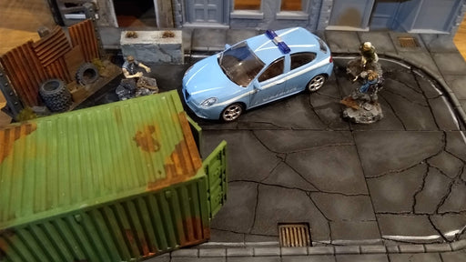 Urban Modular Road Tiles 3D printable