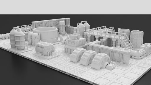 photograph about Free 3d Printable Terrain named Corvus Video games 3D Wargaming Terrain Electronic STL Information Tagged