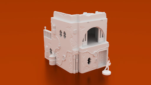 Corvus Games Terrain 3D printable scenery for Star Wars Legion Pilgrim City Jedha range