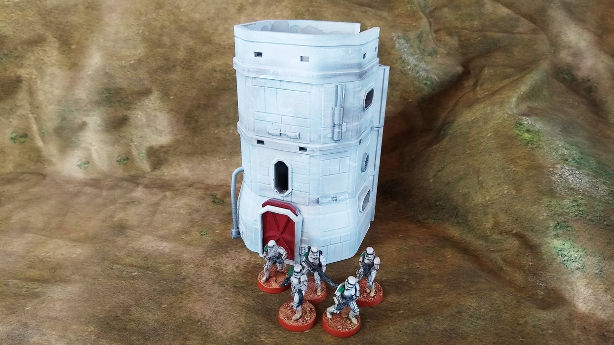 The Colony Mining Town Buildings - Physical Print